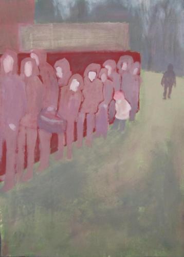 Flucht-03-Kindsein-2016-Acryl-auf-Leinwand-70x50cm