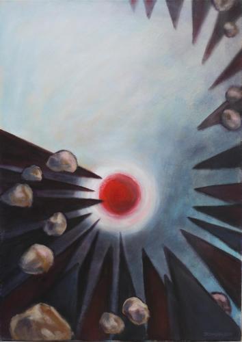 04-wessen Schuld-2014-Acryl-auf-Leinwand-70x50cm
